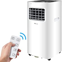 Advwin 3 in1 Portable Mobile Air Conditioner 9K BTU Cooling Fan Dehumidifier W/RC