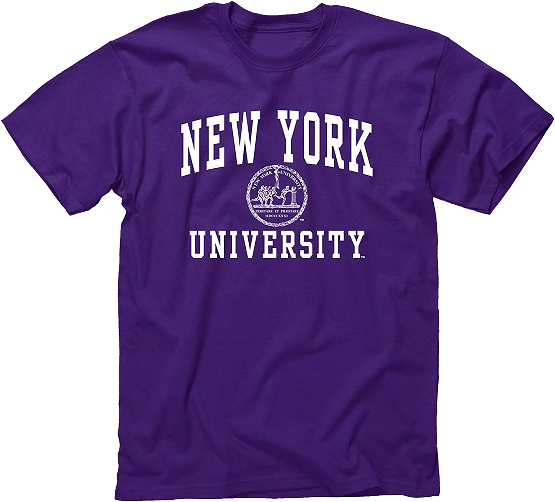 Ivysport Short Sleeve T-Shirt, 100% Cotton, Unisex, Heritage Logo, Color, NCAA Colleges