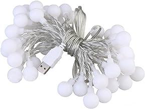 LEDMOMO 40Pcs 4.2M LED Mini Ball Lamp String Wedding Festival Decoration Lantern (Multi-Color)