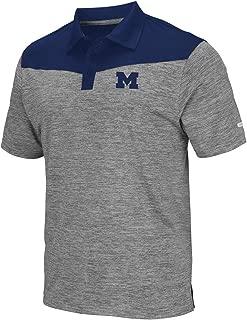 Mens Michigan Wolverines Polo Shirt