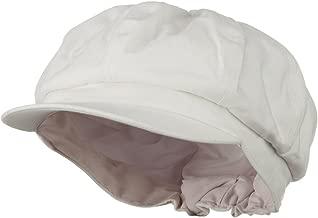 e4Hats.com Cotton Elastic Big Size Newsboy Cap