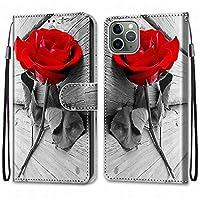 Laybomo Apple iPhone 11 Pro Max ケース カバー 手帳型, [カードスロット]および[キックスタンド]付きの磁気閉鎖完全保護設計ウォレットフリップ 財布型カバー対応 Apple iPhone 11 Pro Max電話ケース, 塗る 4