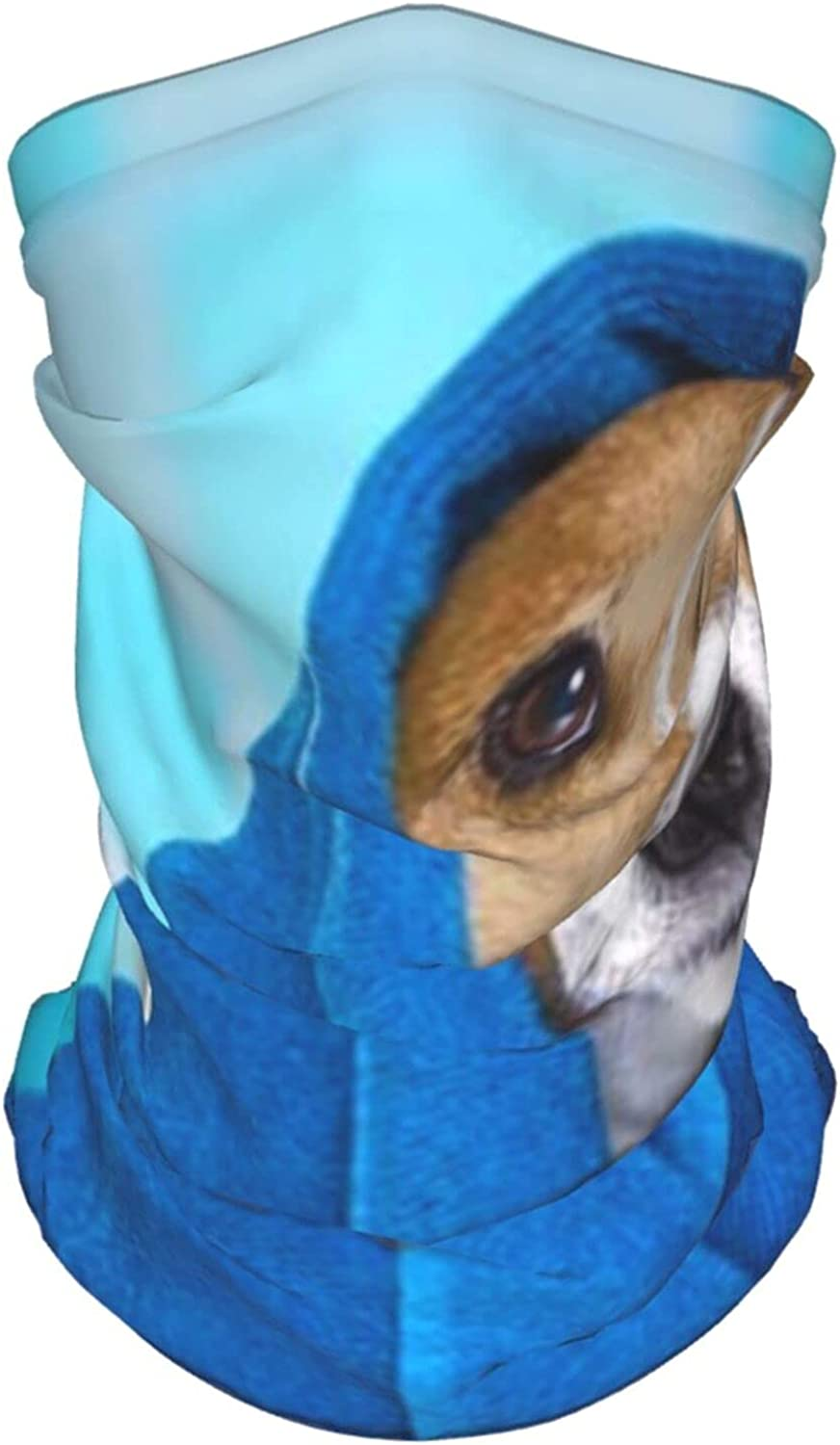 Jack Russell Dog Bathtub Not Amused Animals Wildlife Summer Ice Silk Breathable Face Mask Neck Gaiter Scarf Bandanas for Fishing,Hiking,Running,Motorcycle and Daily Wear