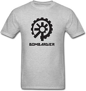 Bombardier de los hombres Logo camiseta de manga corta