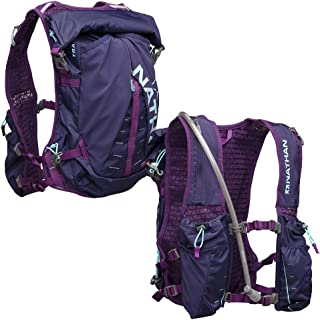 Nathan TrailMix Running Vest/Hydration Pack. 12L (12 Liters) for Men and Women | 2L Bladder Included (2 liters). Zipper, Pocket