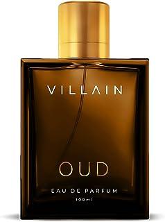 VILLAIN OUD Eau De Parfum For Men, 100ml   Premium Luxury Perfume   Long Lasting Fragrance