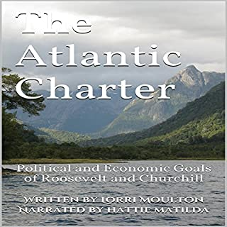 The Atlantic Charter audiobook cover art