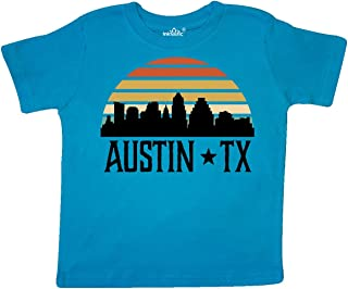 inktastic Austin Texas Skyline Vintage Toddler T-Shirt