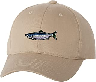 Chinook Salmon Custom Personalized Embroidery Embroidered Hat Baseball Cap