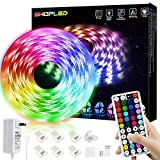 LED Strip Lights 16.4ft 5m Flexible Color Changing Led Lights Strip for Bedroom