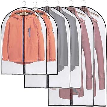6Pcs vêtement Couvre Eva antipoussière étanche anti-mites Vicloon vêtements couvre