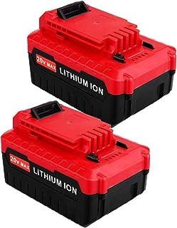 Best porter cable 20v battery 2 pack Reviews