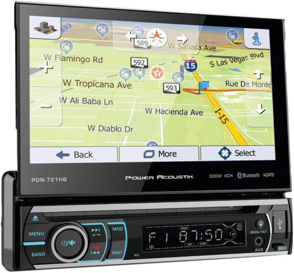 Baltimore Mall Ranking TOP18 Power Acoustik PDN-721HB Single DIN In-Dash Bluetooth CD DVD AM