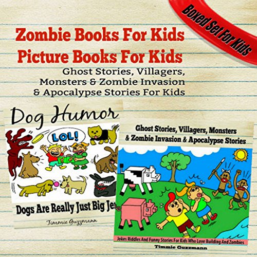 Zombie Books for Kids: Picture Books for Kids cover art
