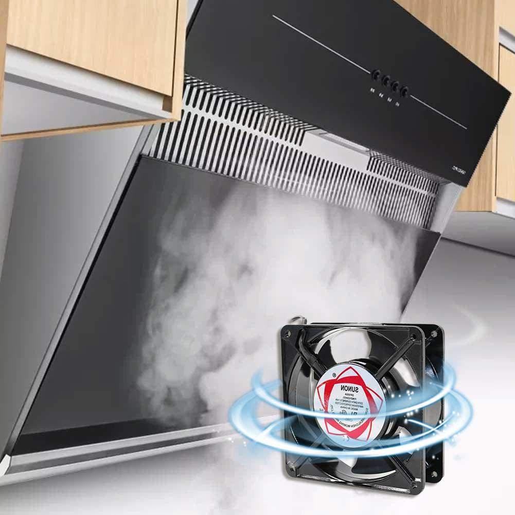 Xiangpian183 Ventilador Axial De Ventilación Industrial -220V Bajo Nivel De Ruido Extractor Comercial Ventilador Ventilador Ventilador De Enfriamiento Ventilador De Escape Ventilador De Aire Comercial: Amazon.es: Hogar