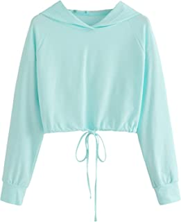 Best turquoise cropped hoodie Reviews