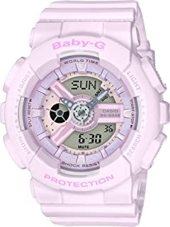 Casio Womens Quartz Watch, Analog-Digital Display and Resin Strap