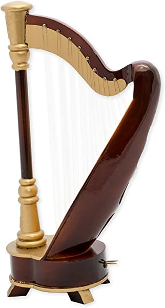9 5 Wooden Harp Musical Instrument Replica