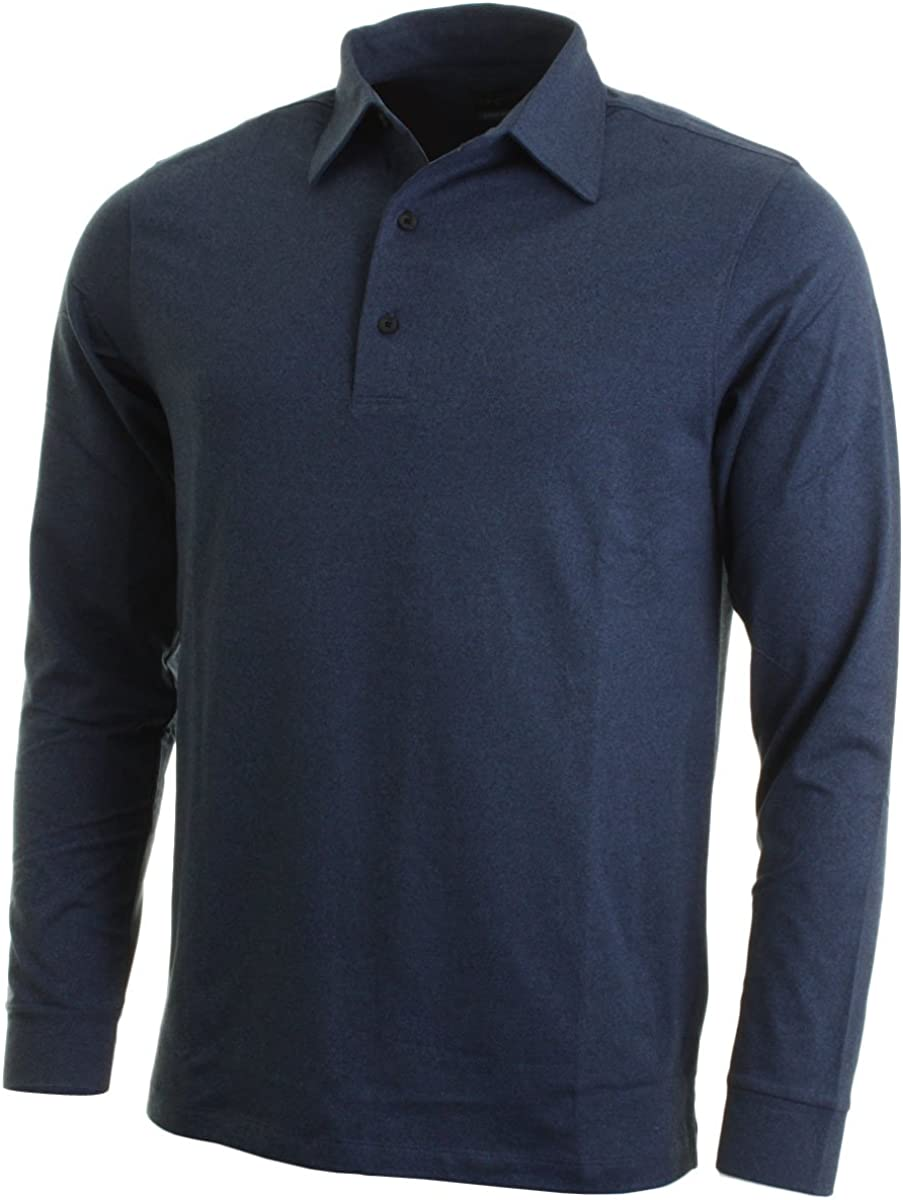 Japan's largest assortment Greg Norman Limited time sale Collection Men's Polo Long Sleeve Mock