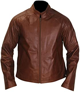 Men's Reacher Real Leather Cruise Jacket