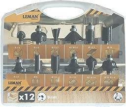 Leman 6300.05 Coronas diamantadas para cer/ámica y porcel/ánico Set de 5 Piezas M14