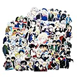 Yuri!!! on ICE Anime Stickers for Kids and Teens 50Pcs Variety Vinyl Waterproof Car Sticker Motorcycle Bicycle Luggage Decal Graffiti Patches Skateboard Stickers for Laptop Stickers(Yuri!!! on ICE)