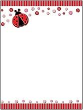 Best ladybug border paper Reviews