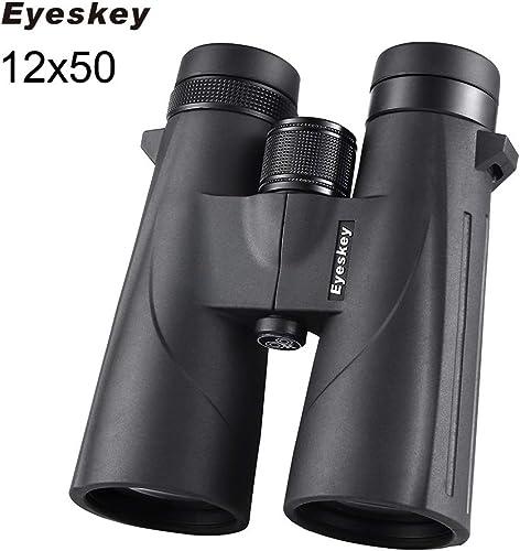 Leaysoo HD 12x50 Jumelles Puissant télescope étanche Professionnel à Longue portée