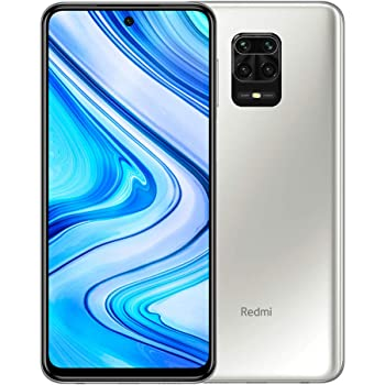 "Xiaomi Redmi Note 9 Pro 128GB + 6GB RAM, 6.67"" FHD+ DotDisplay, 64MP AI Quad Camera, Qualcomm Snapdragon 720G LTE Factory Unlocked Smartphone - International Version (Glacier White)"