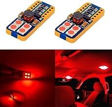 Alla Lighting CAN-BUS Error Free Super Bright T10 Wedge 194 168 2825 175 W5W LED Bulbs - High Power 3030 SMD LED Light Bul...