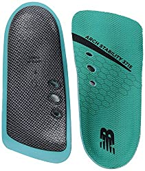 commercial New Balance Insoles 3715 3/4 Archability Insoles, Turquoise, Medium / B 9.5, M 8 T US new balance insoles for plantar fasciitis