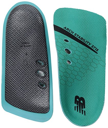 New Balance Insoles 3715 3/4 Arch Stability Insole Shoe, Teal, Medium/M 12 D US