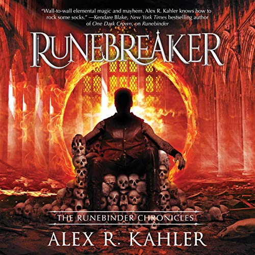 Runebreaker audiobook cover art