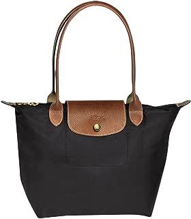 Longchanbag Le Pliage Large Shoulder Tote Bag Black