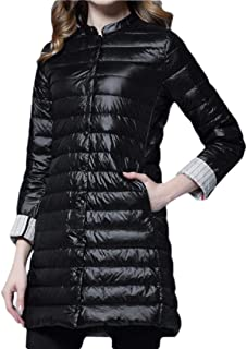 Women Casual Warm Lightweight Packable Down Quilted Puffer Coat Jackets