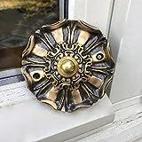 Antikas - Timbre de puerta retro de latón – Abrazadera de puerta de casa herrajes
