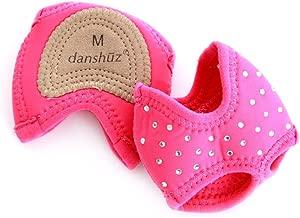 Danshuz Pink Zebra Print Neoprene Half Sole Dance Shoes (1 Pair) - Girls/Women