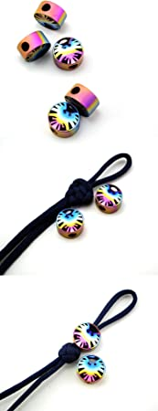 TC4 Roman Column Lanyard Bead Parachute Cord beads EDC Outdoor Craft Accessories