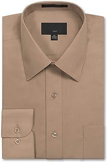 Allsense Men's Long Sleeve Regular Fit Dress Shirts