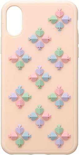 Silicone Spade Flower Phone Case for iPhone XS