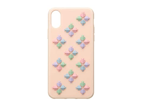 Kate Spade New York Silicone Spade Flower Phone Case for iPhone XS