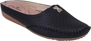 pelle albero Womens Black Comfortable Casual Shoes