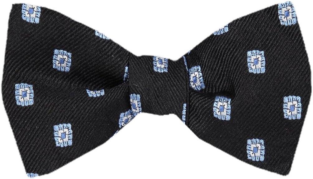FBTZ-904 - Men's Silk Self Tie Bowtie Tie Yourself Bow Ties