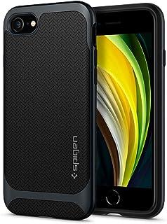 Spigen Neo Hybrid Designed for Apple iPhone SE 2020 Case/Designed for iPhone 8 Case (2017) / Designed for iPhone 7 Case (2016) - Metal Slate