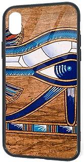 IPhone XR ケース ホルスの目 XR カバー 薄型 指紋防止対策 耐衝撃 衝撃吸収 四隅滑り止め アイフォン XR ケース 6.1インチ