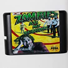 Zombies Ate My Neighbors 16 Bit Md Game Card For Sega Mega Drive For Genesis