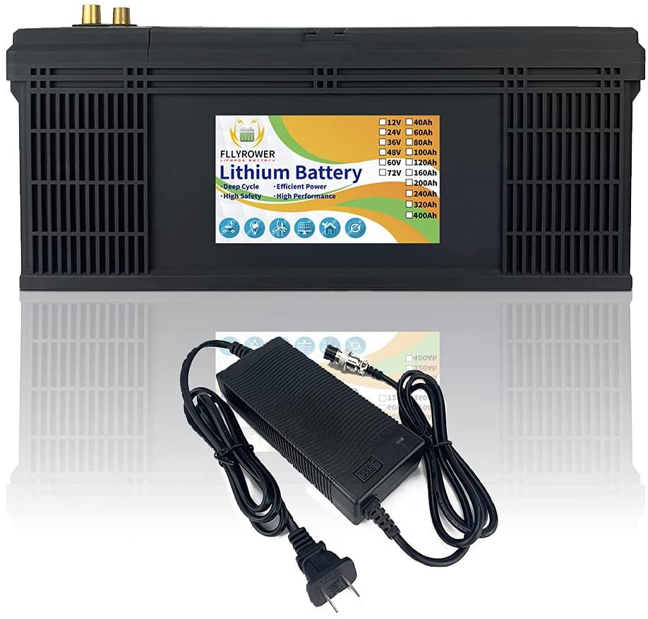 FLYPOWER 12v 320Ah LifePo4 Battery Up to with 7000 Cycles Ranking TOP1 Indianapolis Mall Deep B