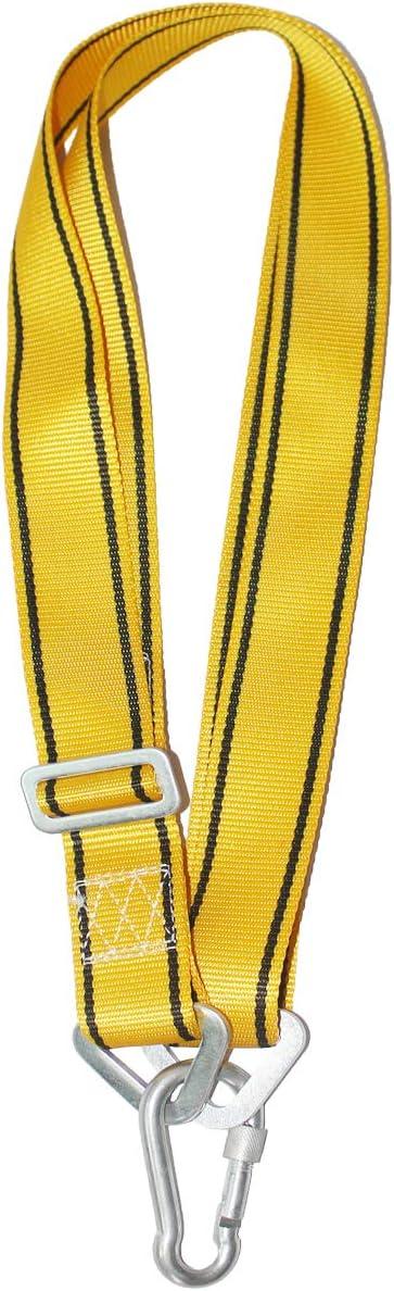 Heavy Punching Bag Strap Hanger - Heavy Duty Boxing Bag Hanger Strap Mount - Heavy Bag Hanging Strap (Yellow)