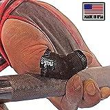 JerkFit Nubs Thumb Sleeves Protector für Hook Grip, olympisches Gewichtheben, Powerlifting, OLY &...