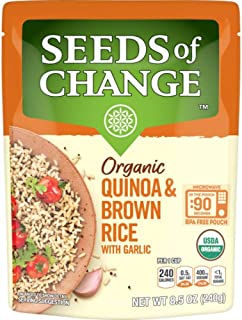 SEEDS OF CHANGE Organic Quinoa & Brown Rice, 8.5 Oz